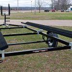 Single Axle Pontoon trailer